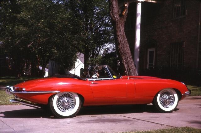 Dad's 1961 Jaguar XK-E OTS Profile