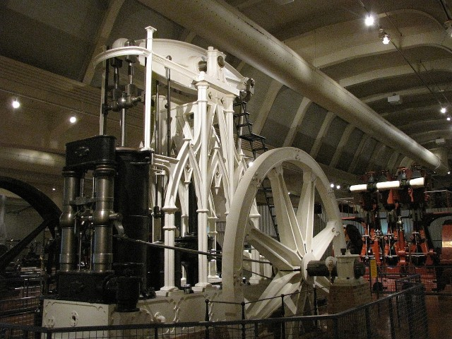Gothic Style Steam Plant at henry Ford Museum