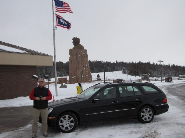 Dunc & E350 At Lincoln Hwy Monument