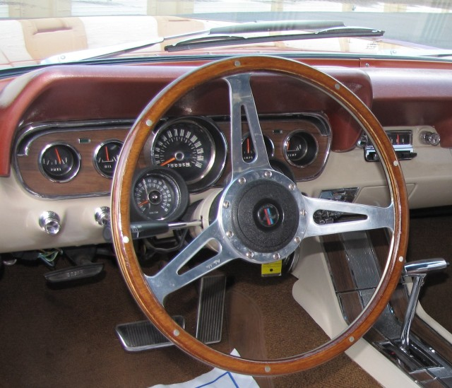 1966 Mustang Convertible Resto,od Steering Wheel