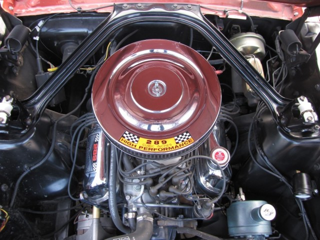 1966 Mustang Restomod Engine