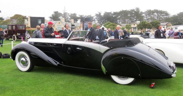 Best in Show Pebble Beach 2012 1928 Mercedes-Benz 680S Saoutchik Cabriolet