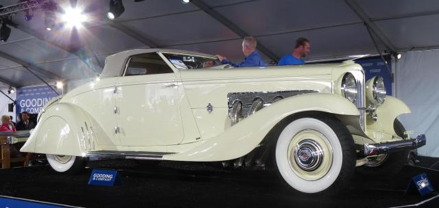 Clark Gable's 1935 Duesenberg Model JN Convertible Coupe
