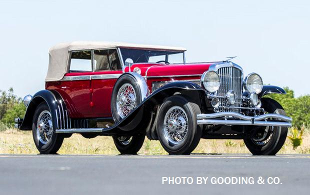 Gooding Imaage of John's1929 Duesenberg