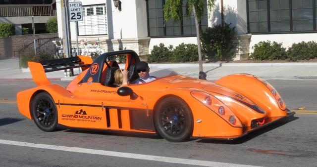 Street Sighting, Monterey - Street-legal Legal Race Car