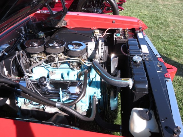 Bobcat GTO's 421 CID Tri-Power V8