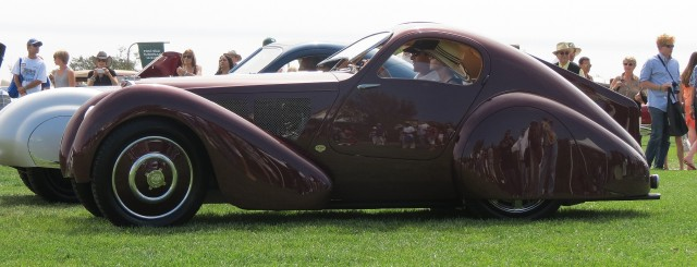 Nethercutt Bugatti awaits selection as best in Class, French Coachwork
